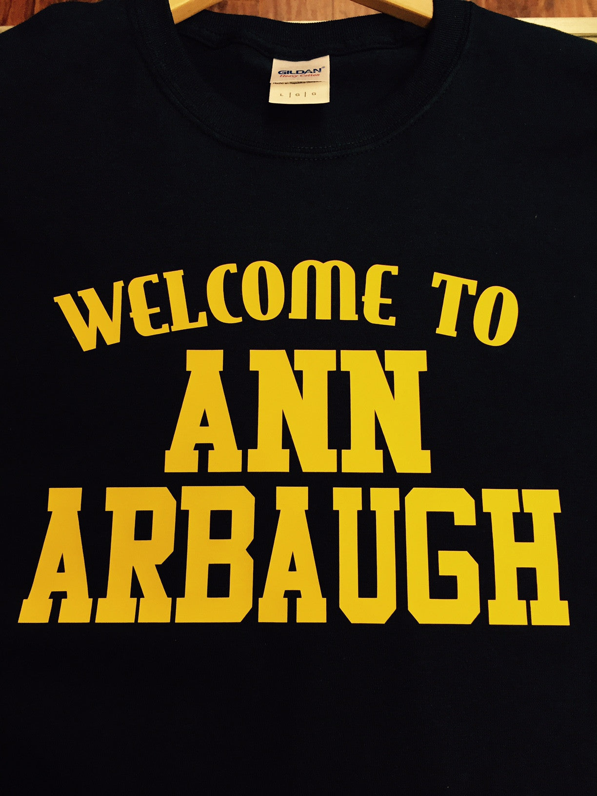 Welcome to Ann Arbaugh t-shirt