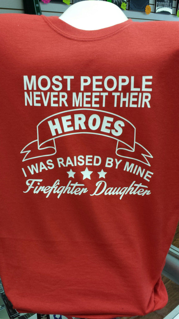 Firefighter Daughter t-shirt Hoodie