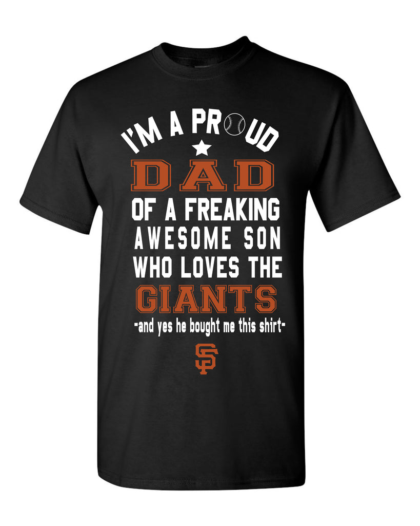 Copy of San Francisco Giants Dad Son T-Shirt