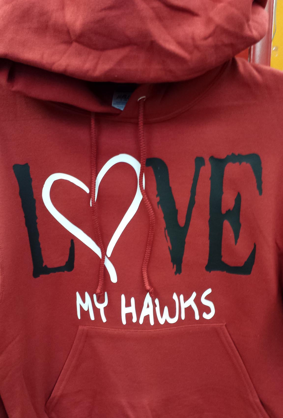 I love the Chicago Blackhawks Hoodie Heart
