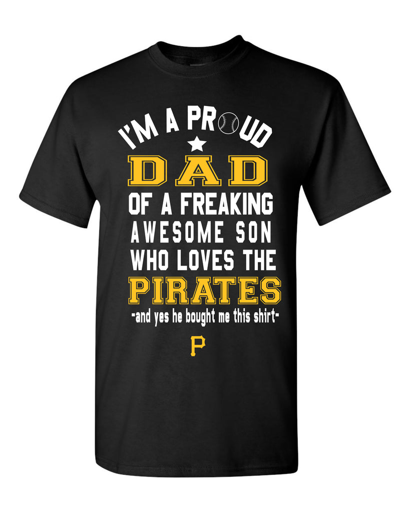 Pittsburgh Pirates Dad Son T-Shirt
