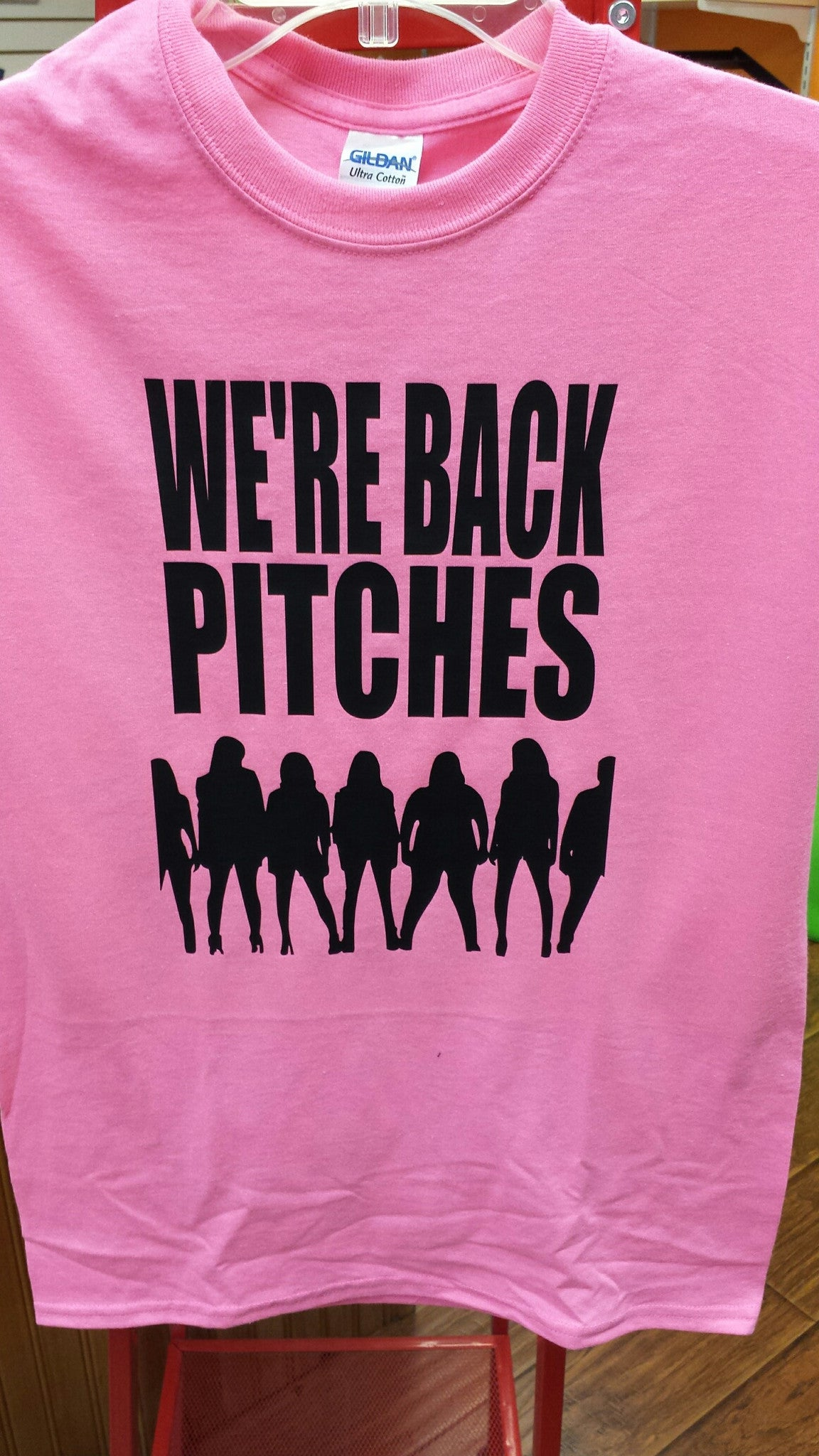 We're Back Pitches Pitch Perfect 2 t-shirt