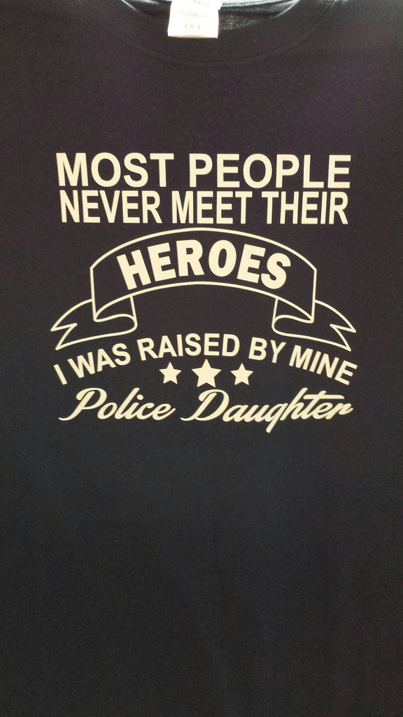Police Daughter t-shirt