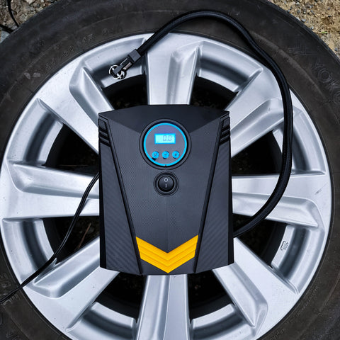 QuickInflate Portable Tire Inflator