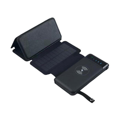 PowerPro Solar Battery Bank with Wireless Charging by Prepared Hero