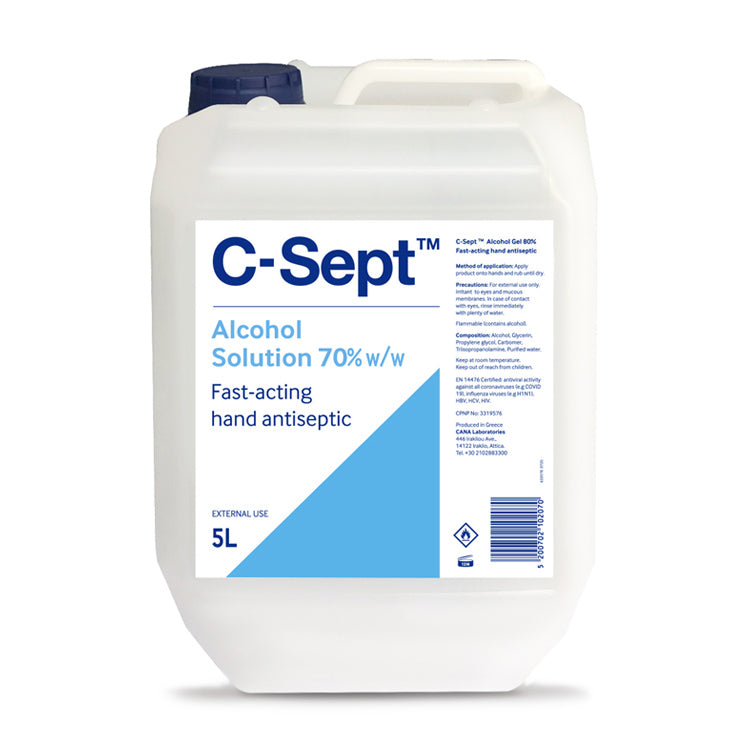 C-Sept™ Alcohol Solution 70% Bottle 5L