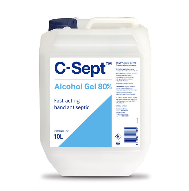 C-Sept™ Alcohol Gel 80% Bottle 10L