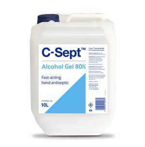 GIGA Pack 20.000 pcs C-Sept™ Alcohol Gel 80% Bottle 10L