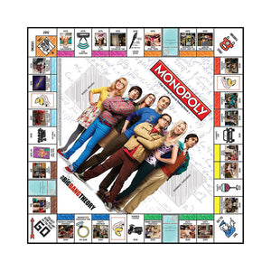 Monopoly Game: The Big Bang Theory - Toy Centre