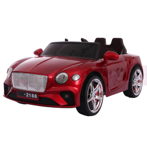 Bentley Replica Kids Ride on Car with Remote - Red - Toy Centre