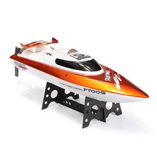 Load image into Gallery viewer, Feilun FT009 2.4G 30km/h High Speed RC Racing Boat with Water Cooling - Toy Centre