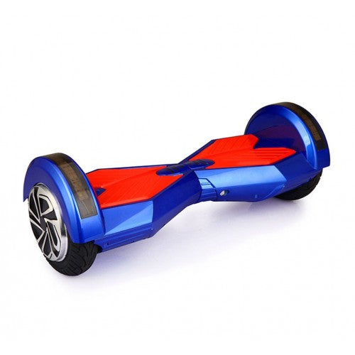 8 Inch Lambo Hoverboard with LED Light, Bluetooth -Blue - Toy Centre