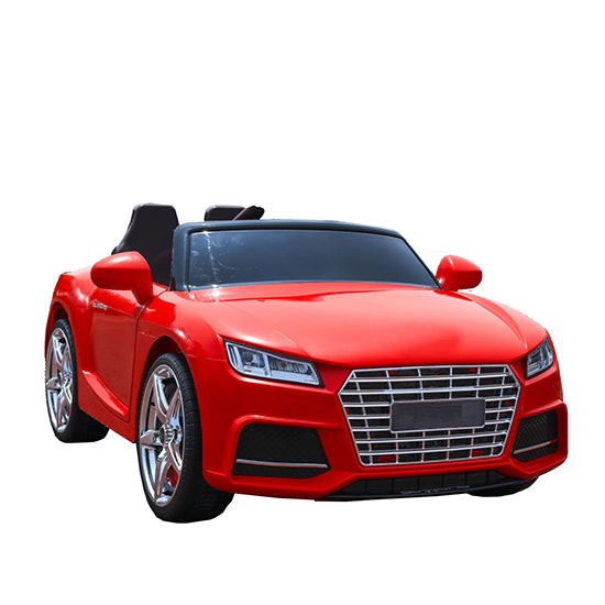 Audi Replica Kids Ride on Car with Remote - Red - Toy Centre
