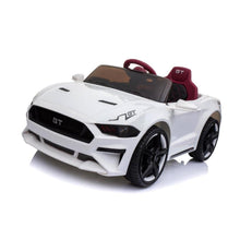 Load image into Gallery viewer, Ford Mustang GT Replica Kids Ride on Car with Remote (white) - Toy Centre