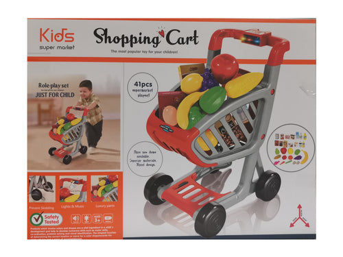 Shopping Cart Set - Toy Centre