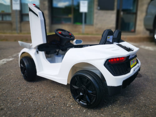 12v Lamborghini Ride ON Replica - White - Toy Centre