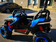 Load image into Gallery viewer, Ride on 2 Seater with Remote - blue - Toy Centre