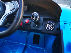 La Ferrari Replica Kids Ride on Car with Remote - Blue - Toy Centre