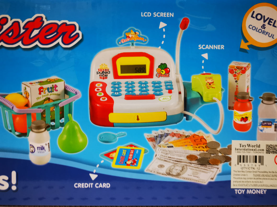 Cash Registor Set - Toy Centre