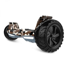 Load image into Gallery viewer, Off Road Hummer Hoverboard with LED Light, Bluetooth -Camo - Toy Centre
