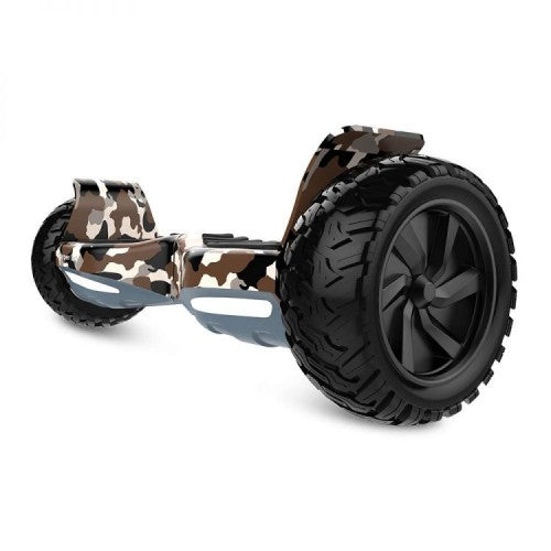 Off Road Hummer Hoverboard with LED Light, Bluetooth -Camo - Toy Centre