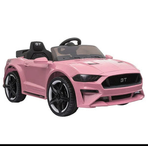 Ford Mustang GT Replica Kids Ride on Car with Remote (Pink) - Toy Centre