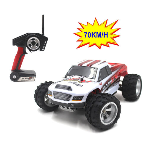 WLtoys A979-B 4WD 1/18 70km/h High Speed Monster Truck 1:18 - Toy Centre