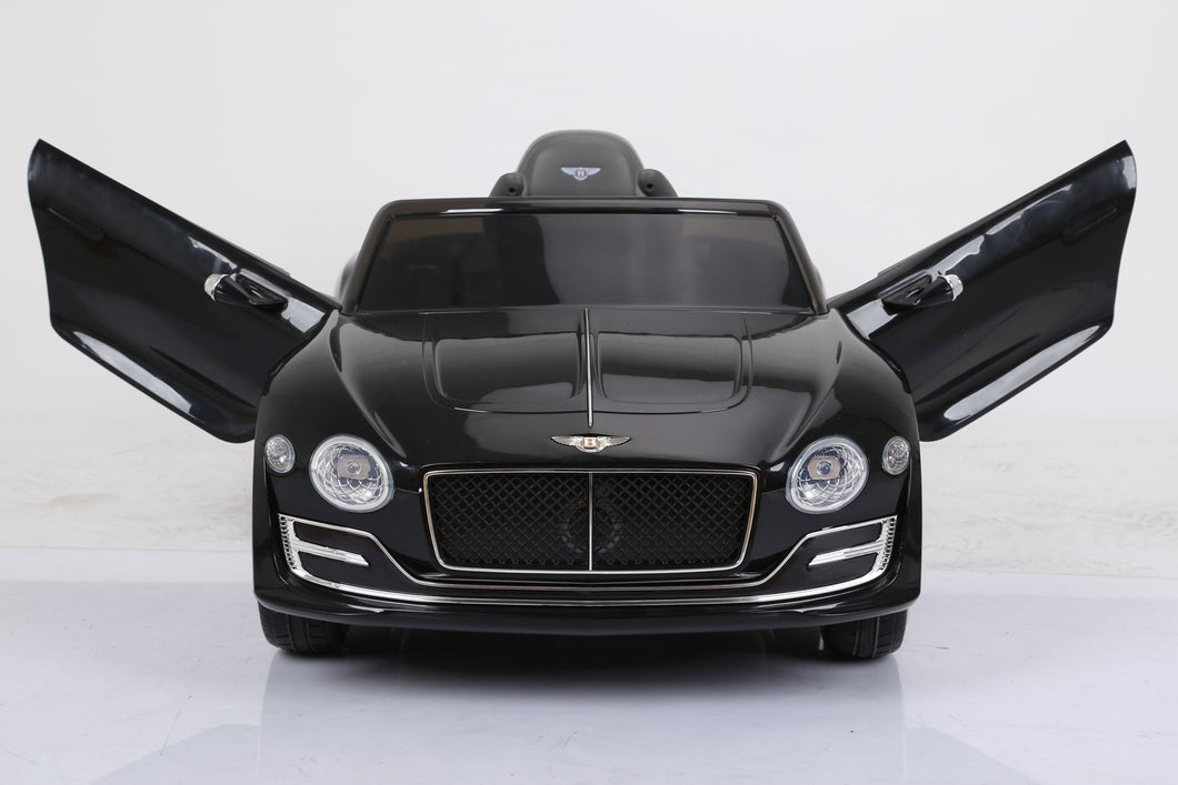 licensed by Bentley Exp12 Ride On - Black - Toy Centre