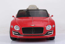 Load image into Gallery viewer, licensed by Bentley Exp12 Ride On - Red - Toy Centre