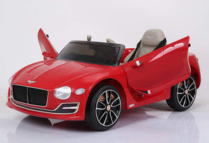 licensed by Bentley Exp12 Ride On - Red - Toy Centre