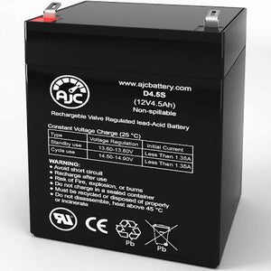 12V4.5 12V 4.5Ah Replacement Battery - Toy Centre