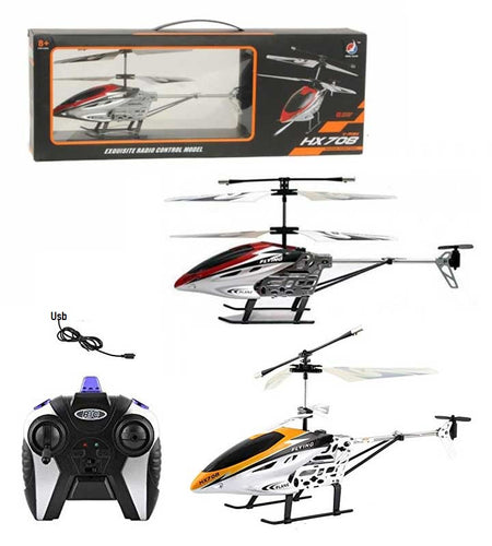 HX708 2-Channel Radio Remote Control RC Helicopter - Toy Centre