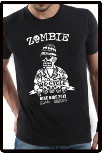 2013 Zombie Joe T-Shirt - Black