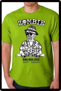 2013 Zombie Joe T-Shirt - Green