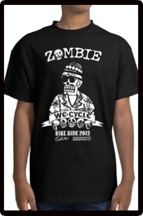 2013 Zombie Youth T-Shirt Black