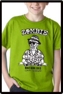2013 Zombie Youth T-Shirt Green