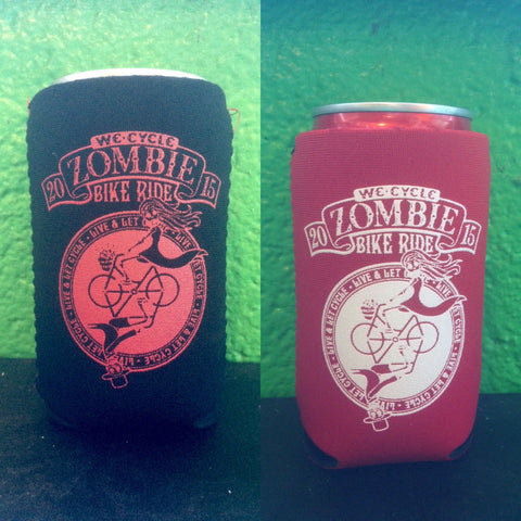2015 Zombie Bike Ride Koozies - 2 for $5!