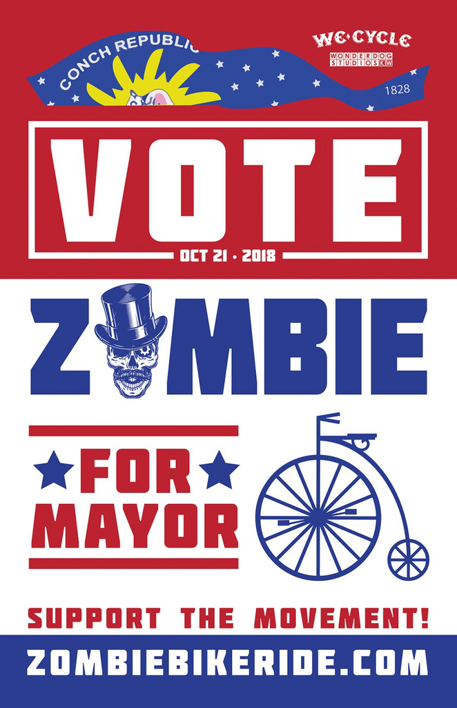 Vote for Zombie - Classic Poster