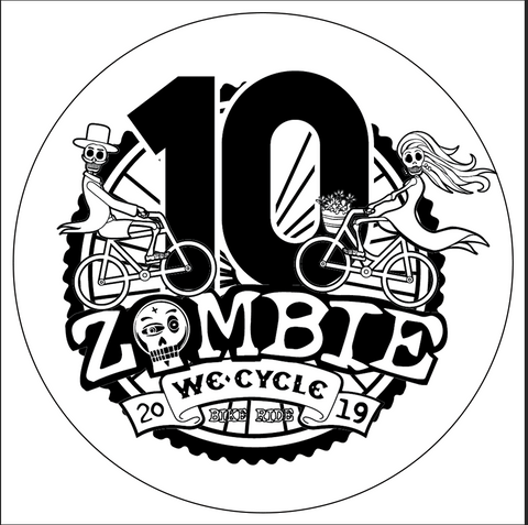 2019 10th Anniversary Sticker