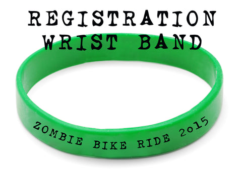 2015 Zombie Bike Ride Registration & Wrist Band