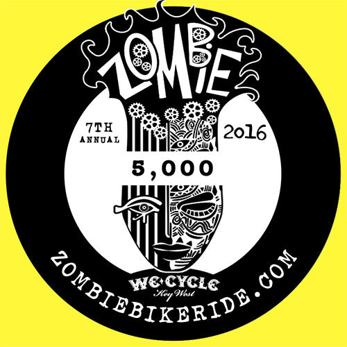 2016 Zombie Bike Ride Registration & Sticker