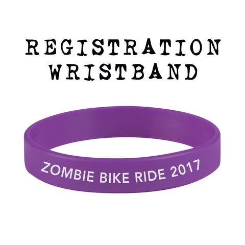2017 Zombie Bike Ride Registration & Wristband