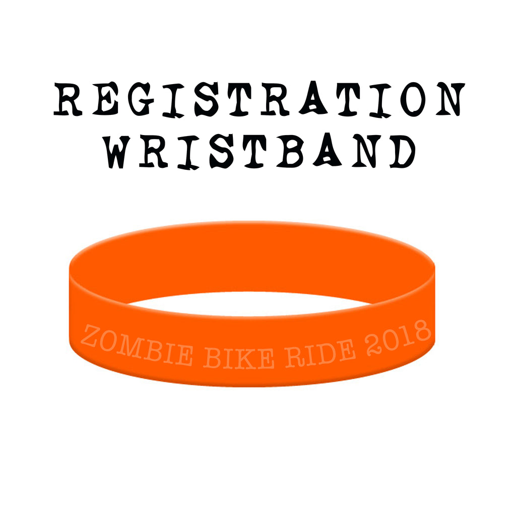 2018 Zombie Bike Ride Registration & Wristband