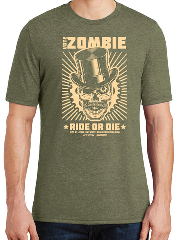 Vote for Zombie Tee in Green Frost