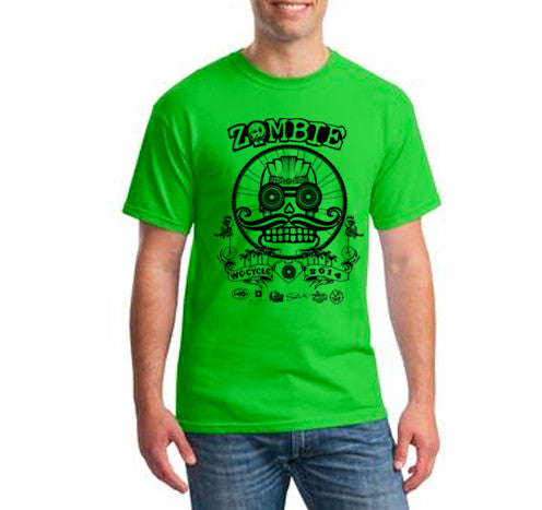 2014 Zombie Joe T-Shirt – Green