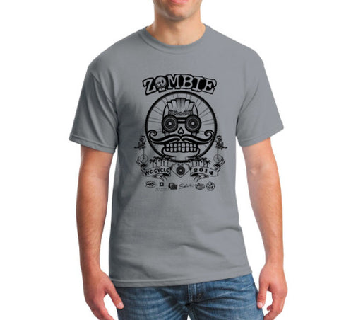 2014 Zombie Joe T-Shirt – Grey