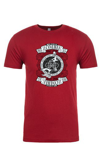2015 Zombie RIDE T-Shirt – Cardinal Red