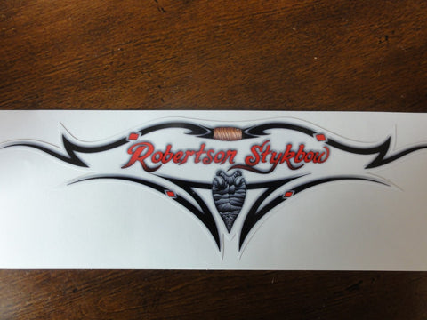 Robertson Stykbow Decal