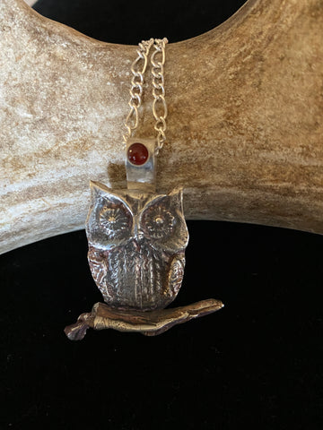 Owl Necklace  20/06