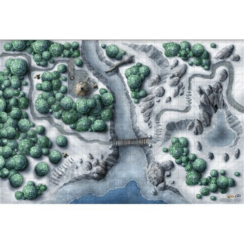 D&D: Icewind Dale: Rime of the Frostmaiden Map Set (5e) | Blackrowan Games